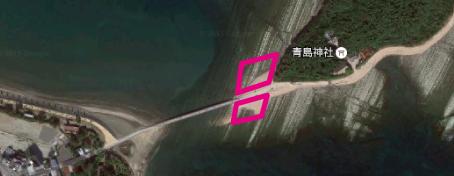 集合場所の地図